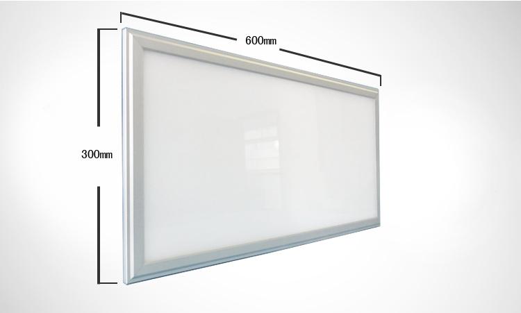 Plafoniera Led Rettangolare : Pannello led 60x30 cm lampada luminoso 16w plafoniera incasso luce